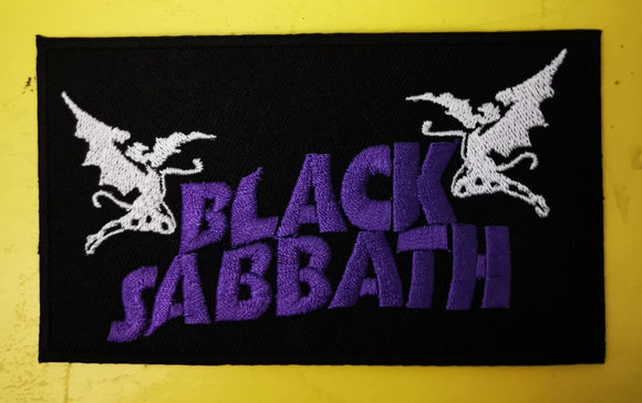 Patches Black Sabbath Embroidered Iron on Patch Kwaito Koeksister