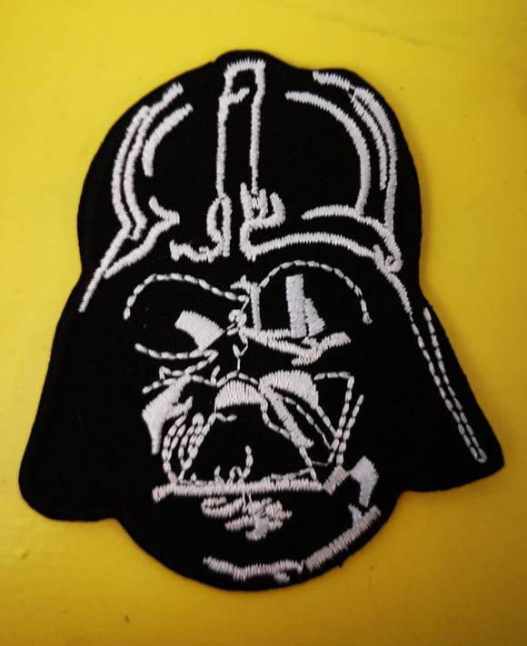 Patches Darth Vader 2 Embroidered Iron on Patch Kwaito Koeksister