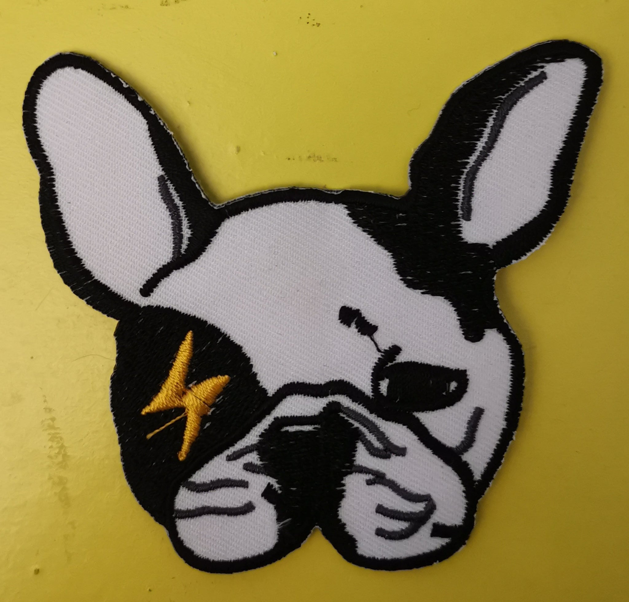 Dog Embroidered Iron on Patch
