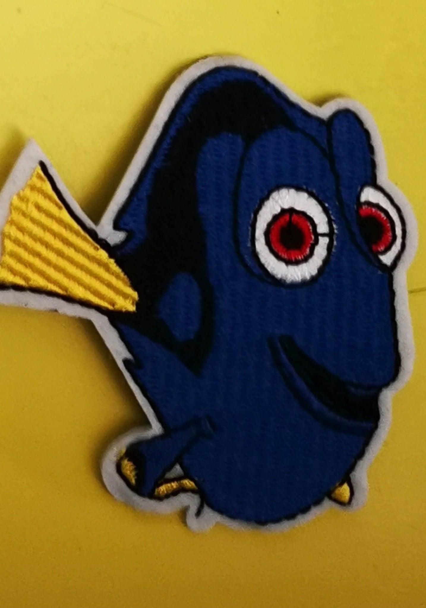 Dory Embroidered Iron on Patch