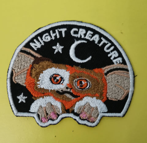 Gizmo 2 Embroidered Iron on Patch