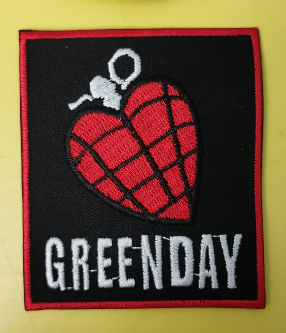 Patches Greenday Embroidered Iron on Patch Kwaito Koeksister