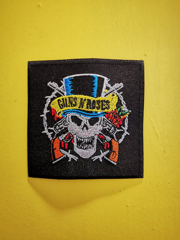 Guns 'n Roses 2 Embroidered Iron on Patch