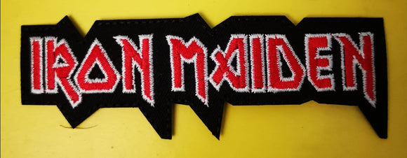 Patches Iron Maiden Embroidered Iron on Patch Kwaito Koeksister