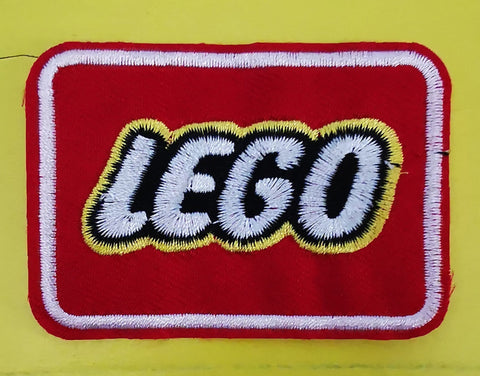 Lego Embroidered Iron on Patch