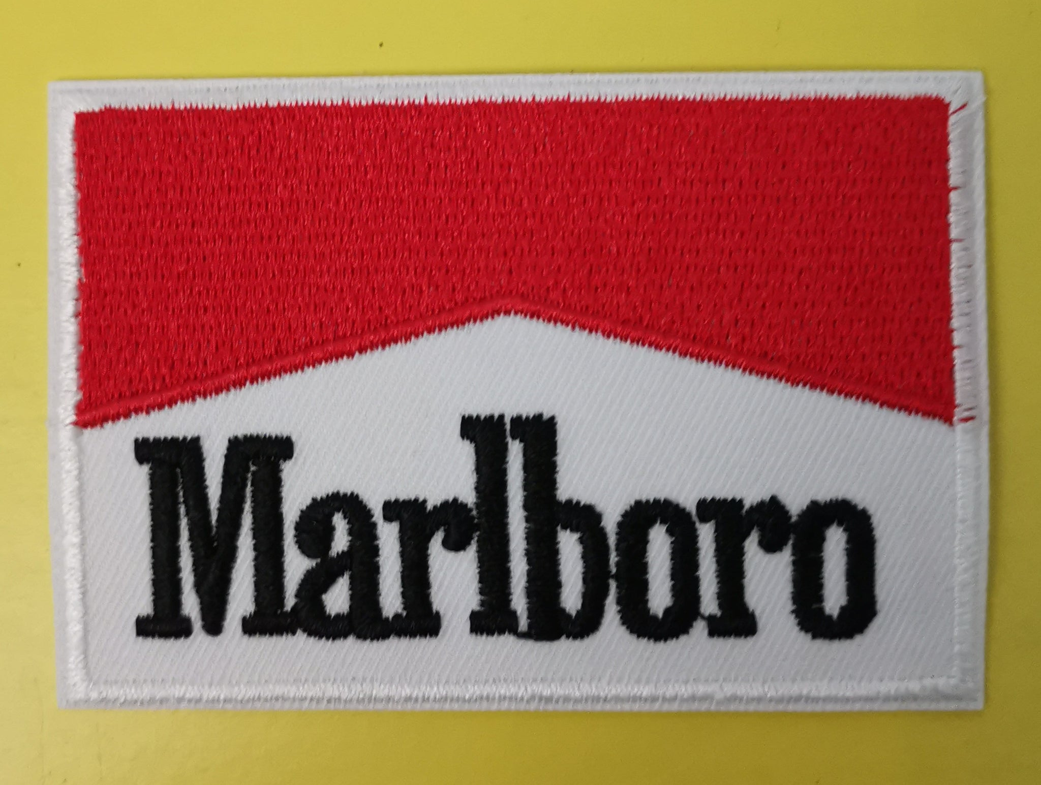 Marlboro 2 Embroidered Iron on Patch