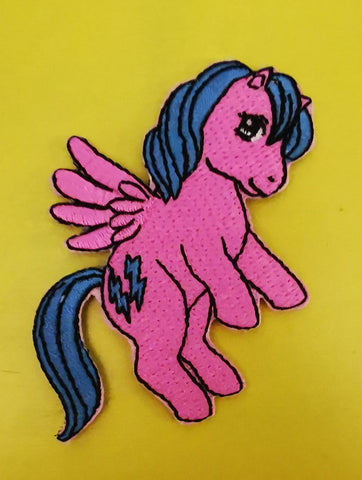 My Little Pony Embroidered Iron on Patch
