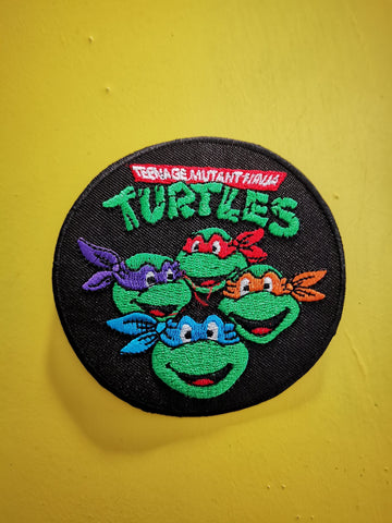 Ninja Turtles Embroidered Iron on Patch