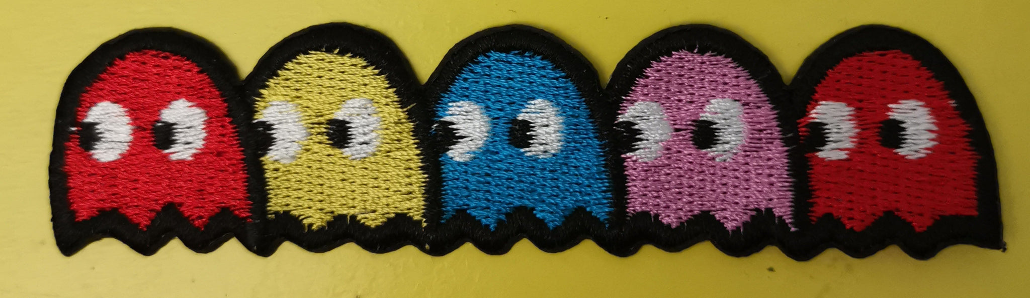 Pacman 2 Embroidered Iron on Patch
