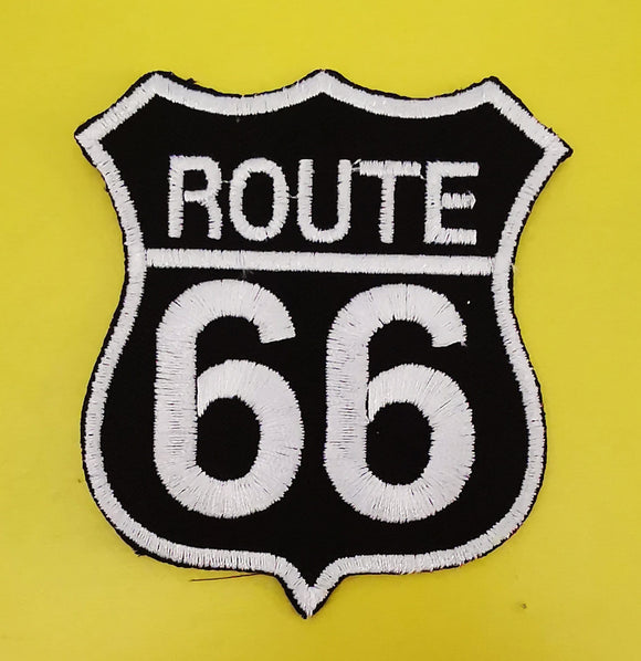 Patches Route 66 Big Embroidered Iron on Patch Kwaito Koeksister