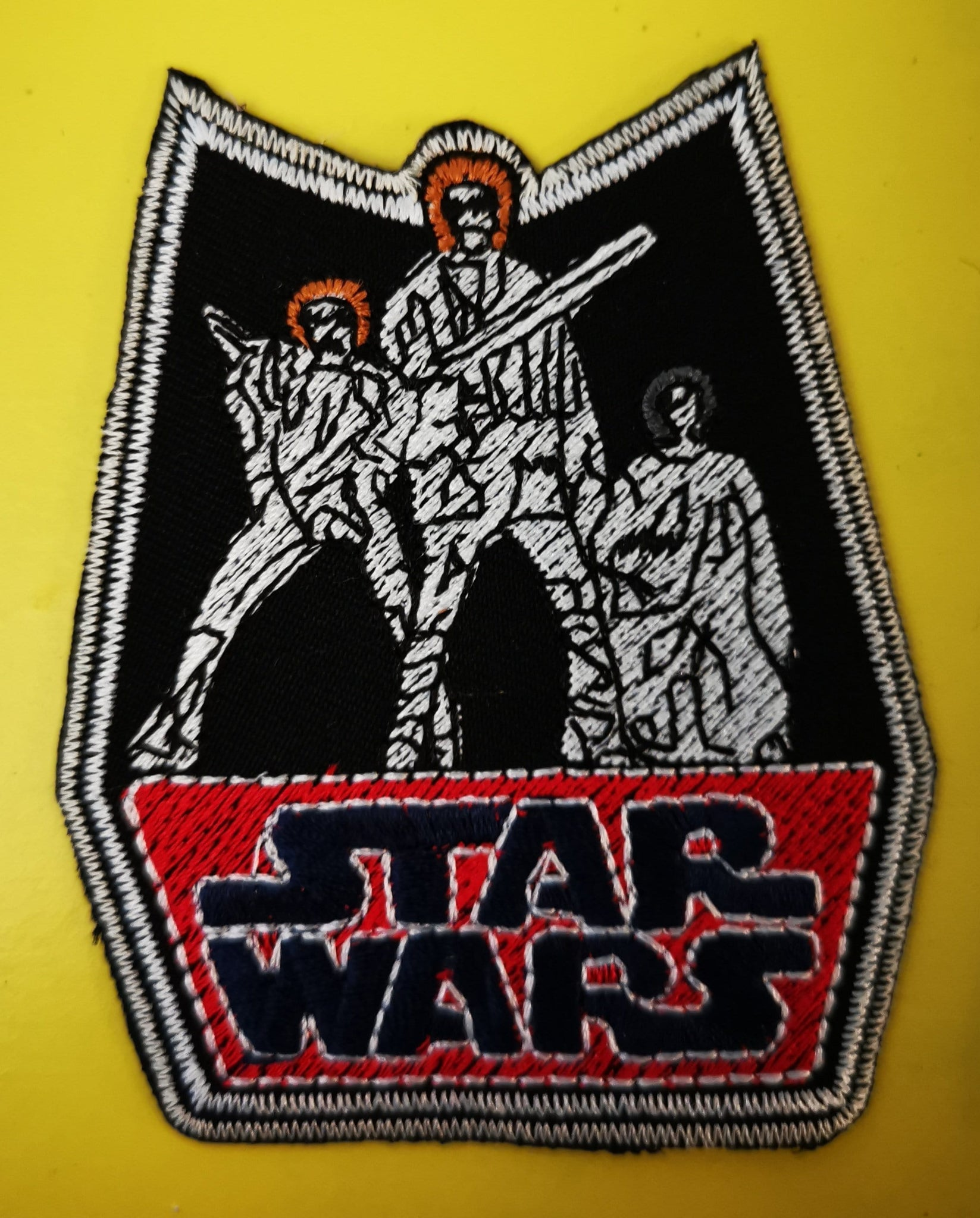 Star Wars 4 Embroidered Iron on Patch