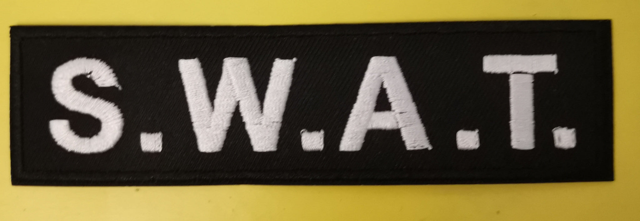SWAT Embroidered Iron on Patch