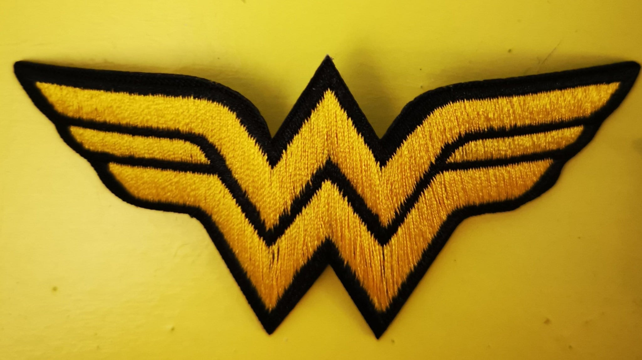 Wonder Woman 2 Embroidered Iron on Patch