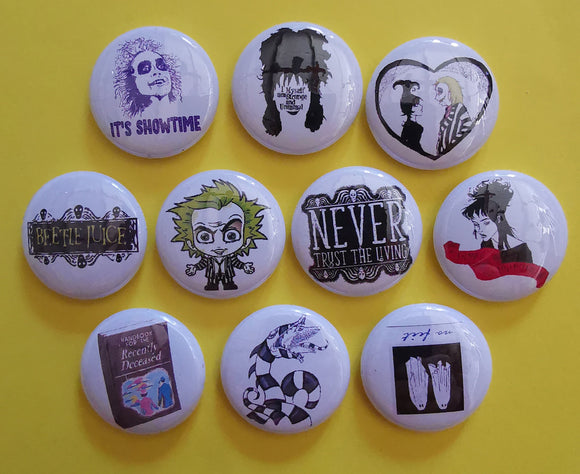Kwaitokoeksister Pins Beetlejuice Collection 1 Kwaito Koeksister