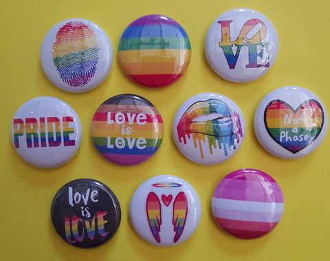 LGBTQ Pins Collection 2