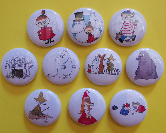 Kwaitokoeksister Pins Moomin Pins Collection 1 Kwaito Koeksister