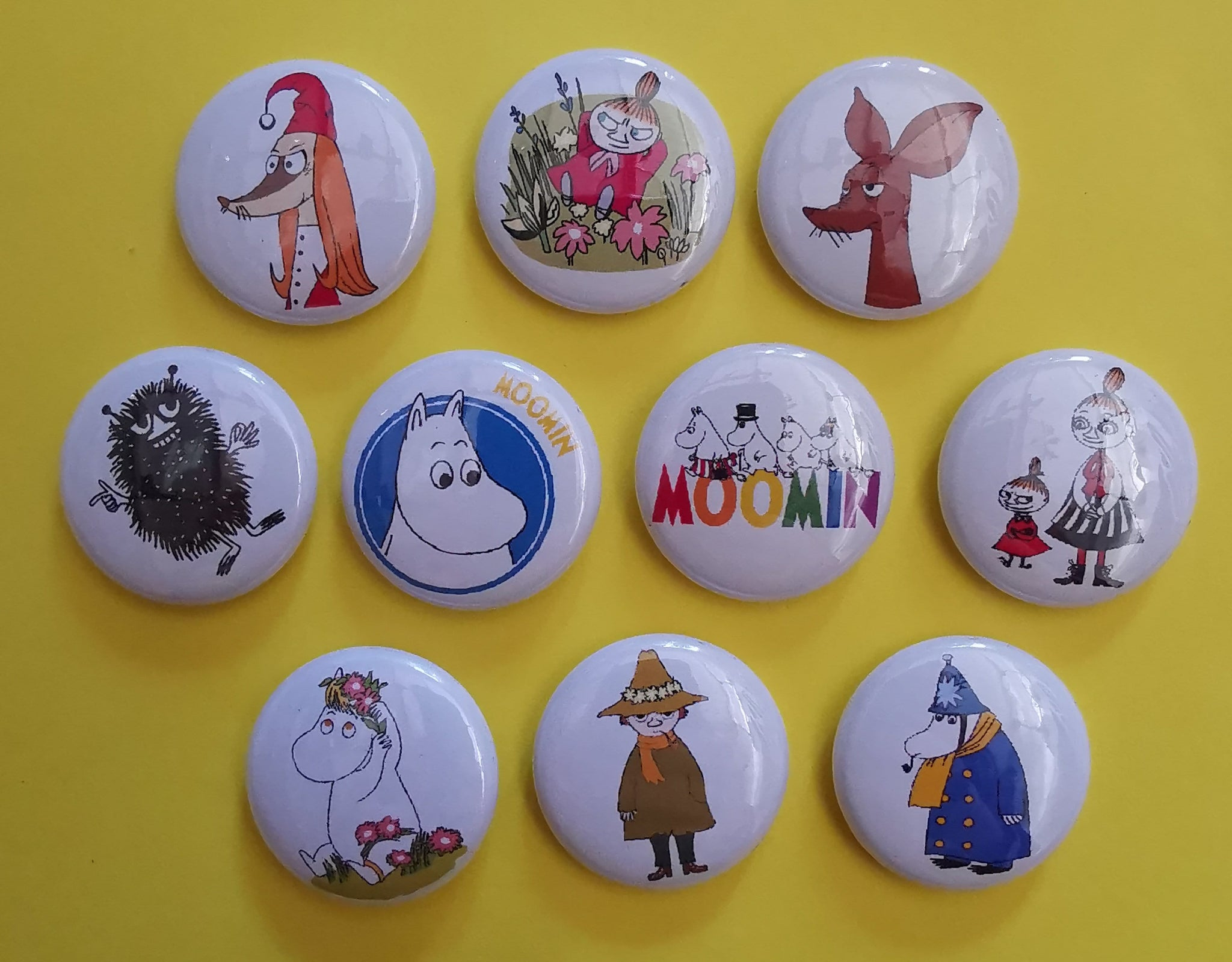 Moomin Pins Collection 2