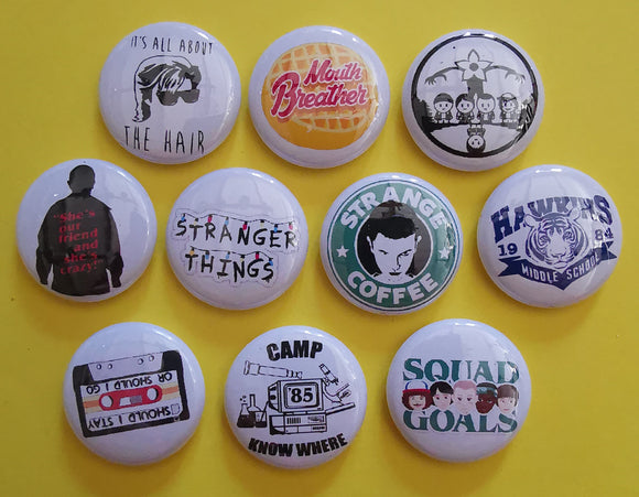 Kwaitokoeksister Pins Stranger Things Pins Collection 1 Kwaito Koeksister