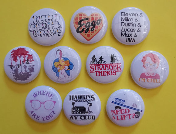 Kwaitokoeksister Pins Stranger Things Pins Collection 3 Kwaito Koeksister