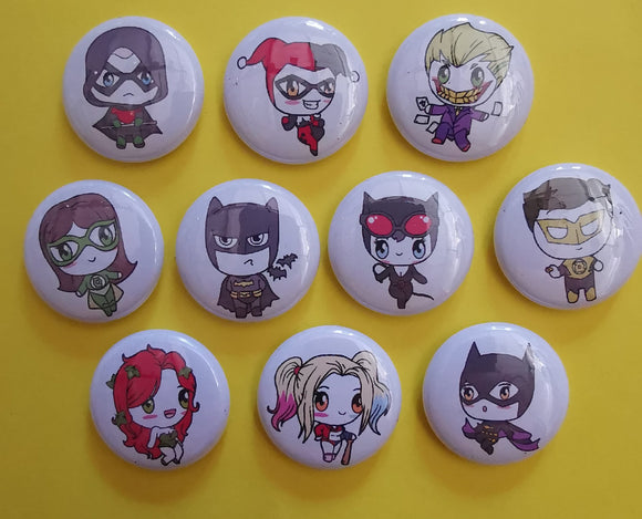 Kwaitokoeksister Pins Super Hero Pins Collection Kwaito Koeksister