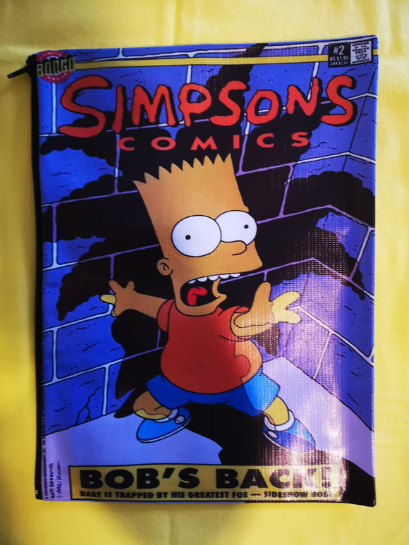 Simpsons cartoon cover clutch  Kwaitokoeksister