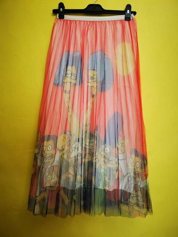 Printed Tulle Skirt 4