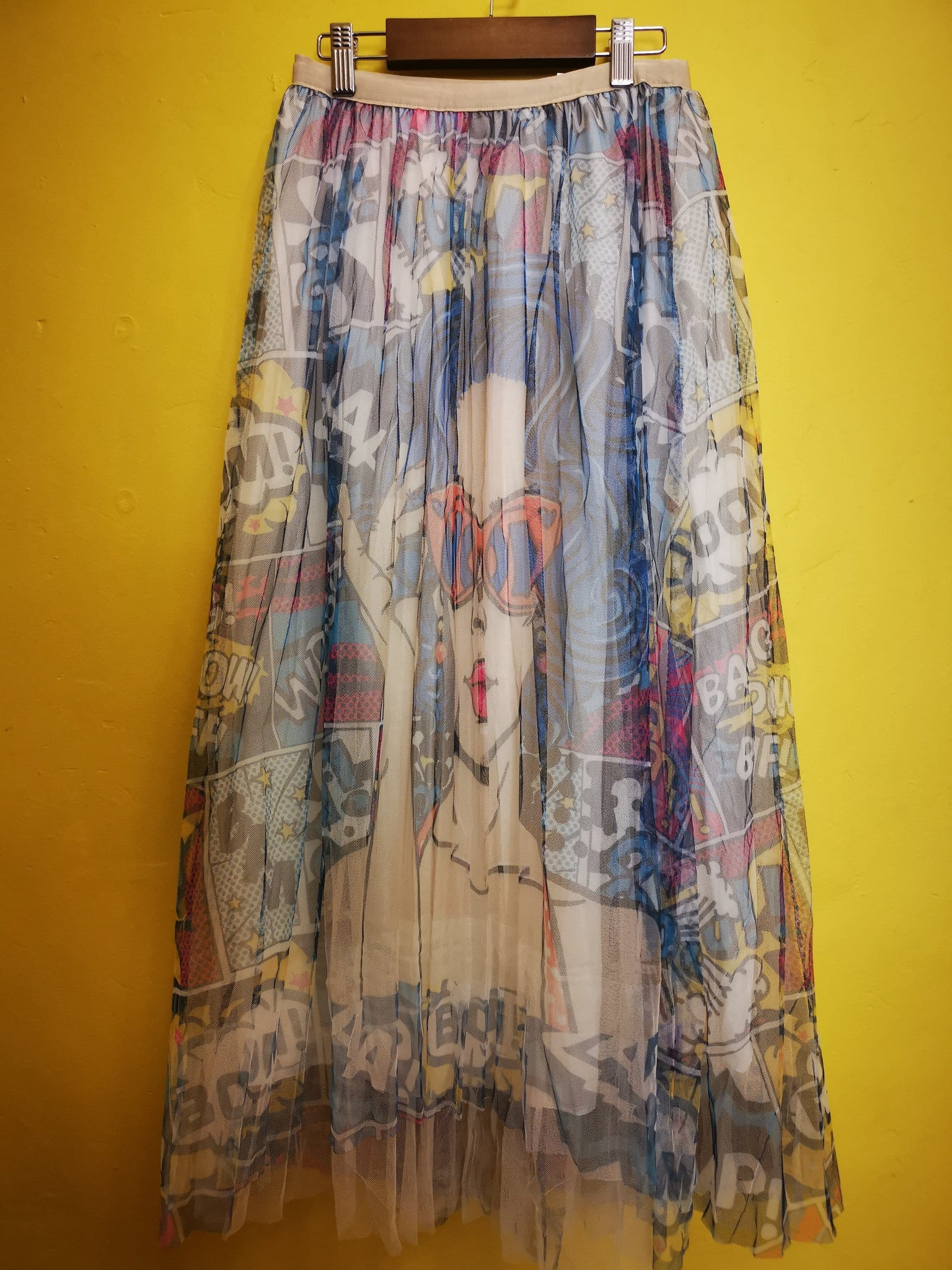 Printed Tulle Skirt 8