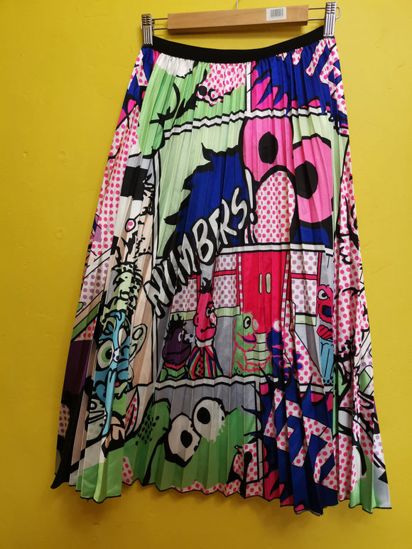 Skirt Sesame Street Cartoon Skirt mid Kwaito Koeksister