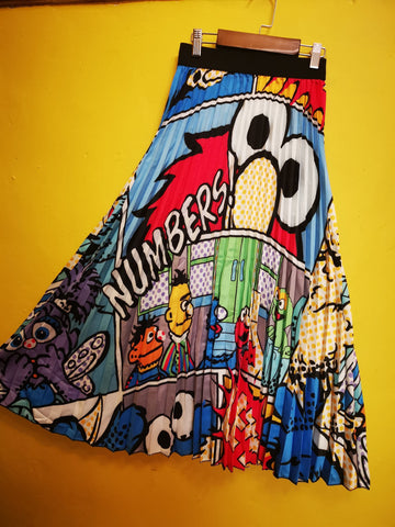 Sesame Street Cartoon Skirt