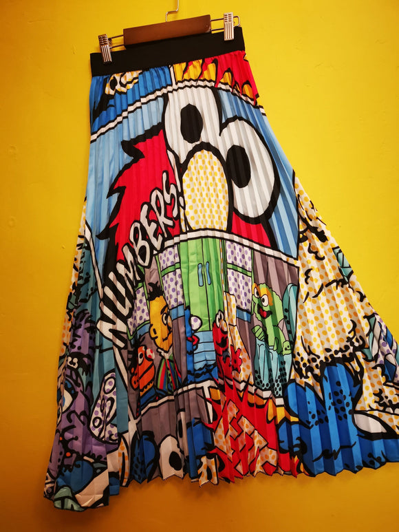 Skirt Sesame Street Cartoon Skirt Kwaito Koeksister