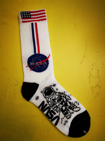 NASA Astronaut White Socks