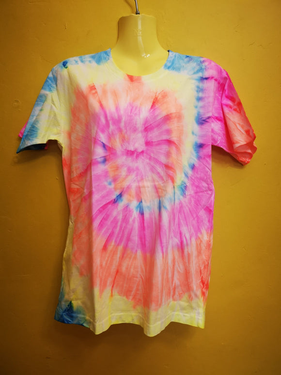 Glow in the Dark Tie Dye T-shirt T-shirt Kwaitokoeksister