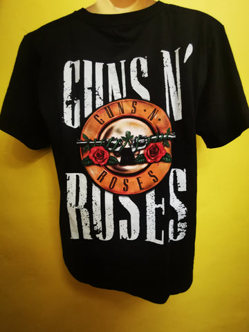 Guns & Roses 2 T-shirt Double sided