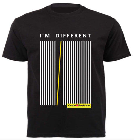 I'm different Black T-Shirt