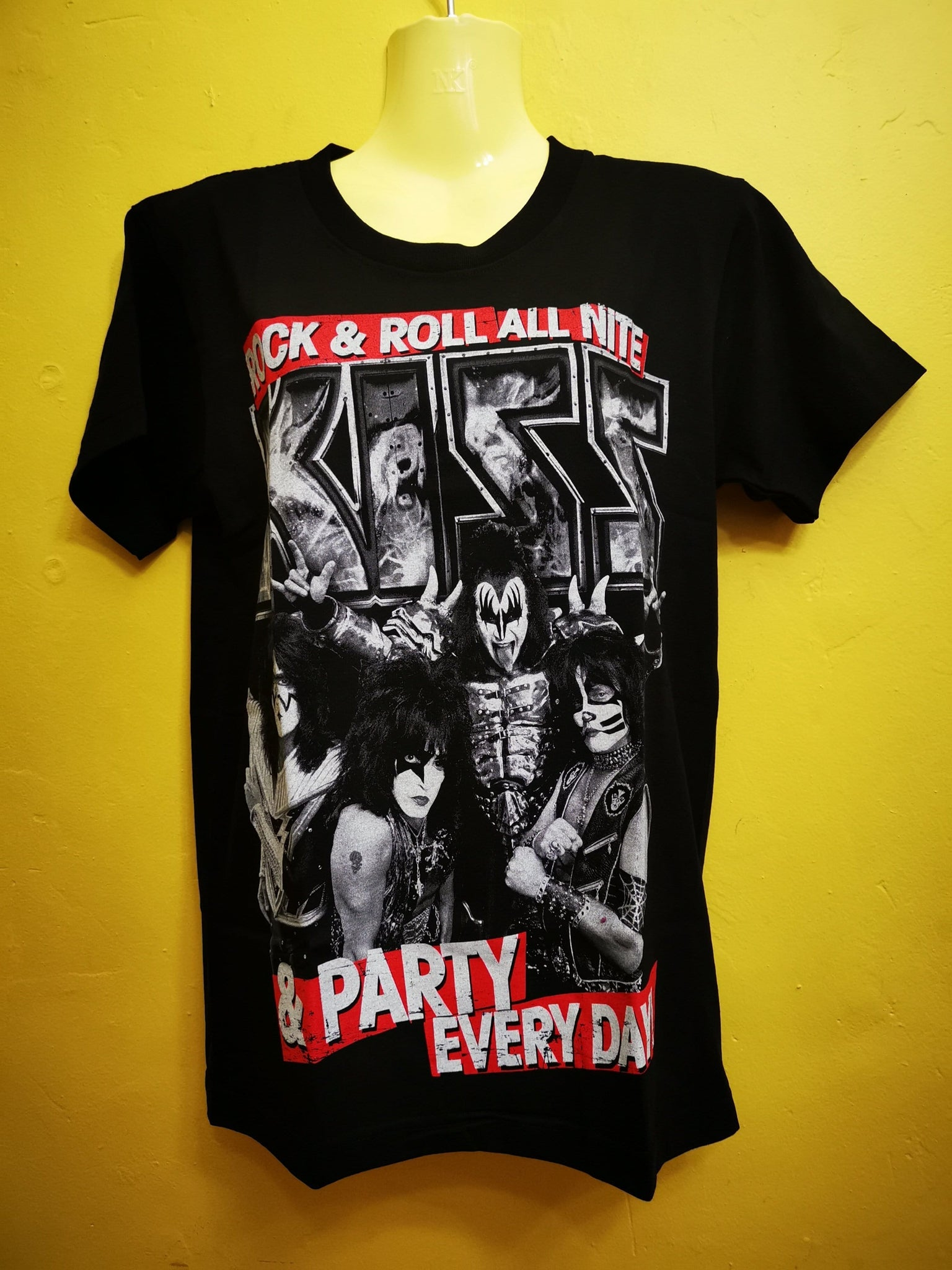 Kiss T-shirt Double sided