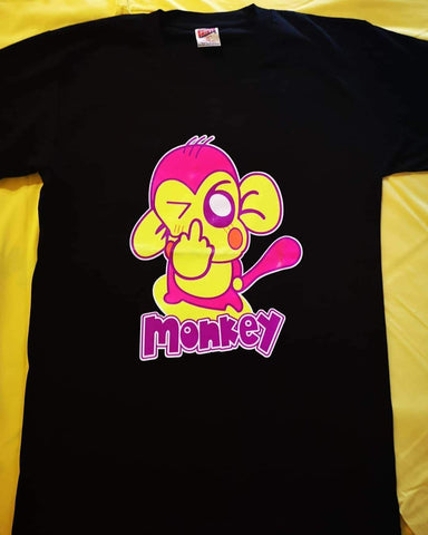 Lumo T-shirt Monkey Wink