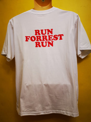 Run Forest White Oversize T-shirt