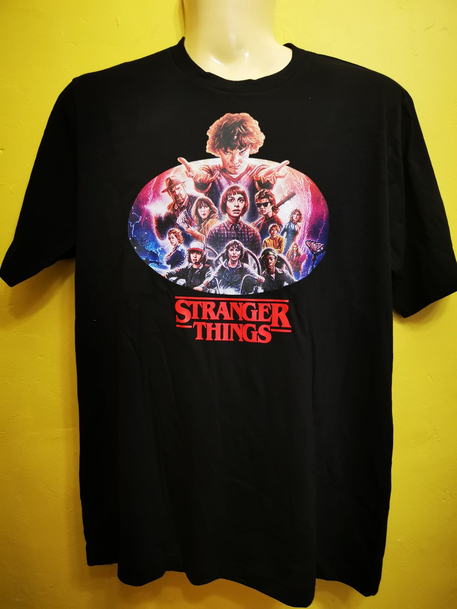 Stranger Things 19 Oversize T-shirt