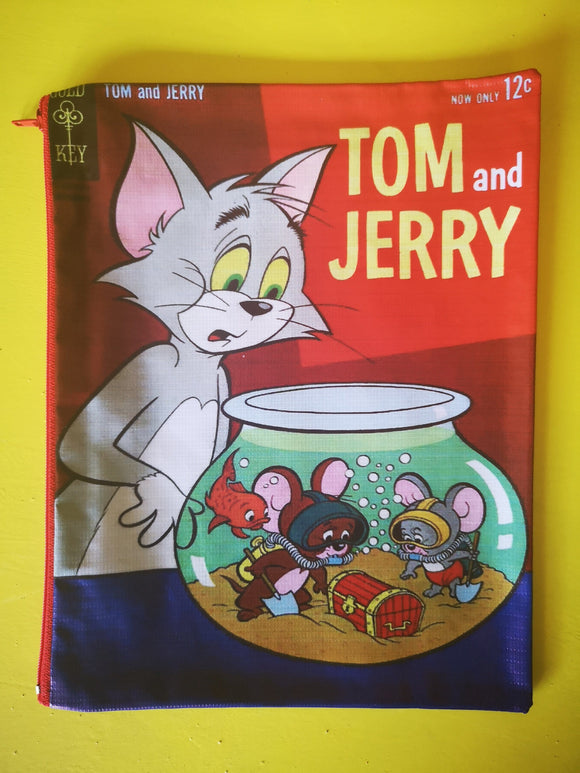 Tom and Jerry cartoon cover clutch  Kwaitokoeksister