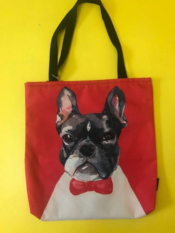 Water Repellent French Bulldog Shopper bag
