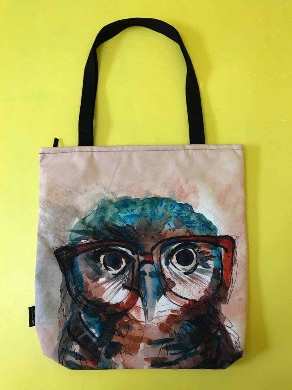 Water Repellent Owl Shopper bag