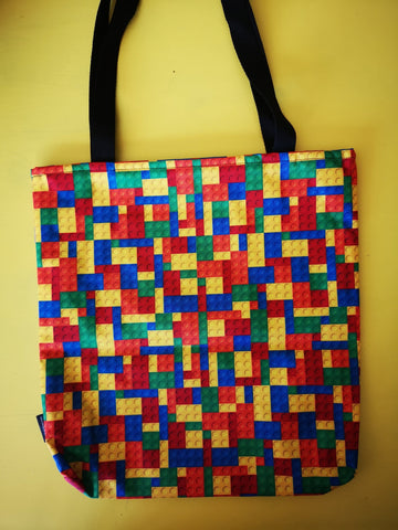 Water Repellent lego Shopper bag