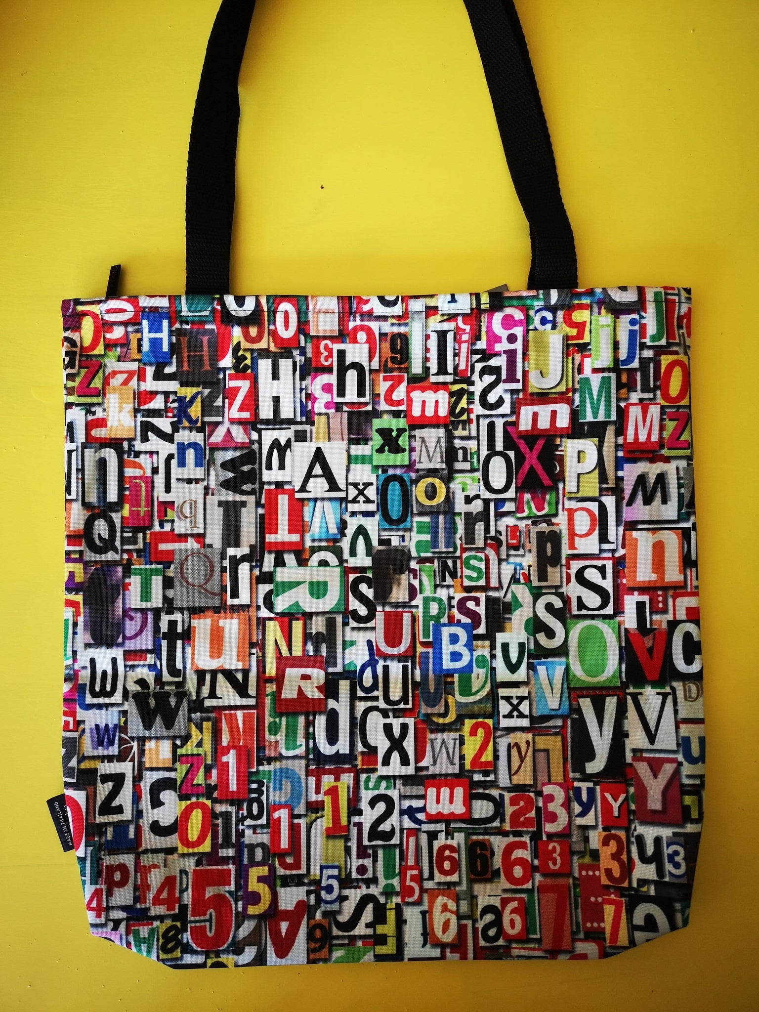 Water Repellent Shopper bag