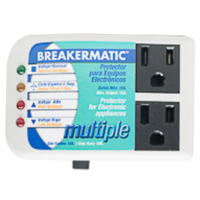 BREAKERMATIC ELECTRICAL APPLIANCES SURGE PROTECTOR