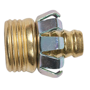 "1/2"" BRASS MALE HOSE COUPLING"