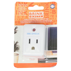 SURGE PROTECTOR 1 OUTLET WALL TAP