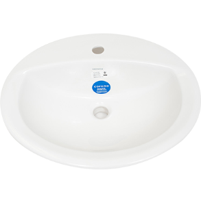 FACE BASIN MARSELLA ORBIT WHITE