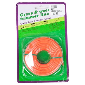 "TRIMMER LINE ORANGE .095"" X 50FT"
