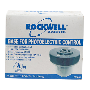 DUSK TO DAWN PHOTOCELL BASE ROCKWELL