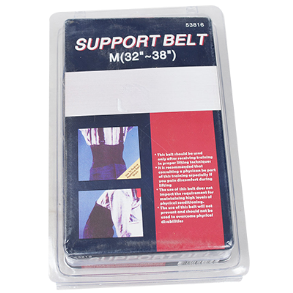 BACK SUPPORT BELT MEDIUM